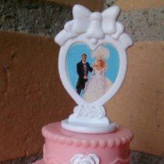 Barbie y Ken: BARBIE MATTEL 1995 TARTA BODA, WEDDING CAKE. Lote 45451919
