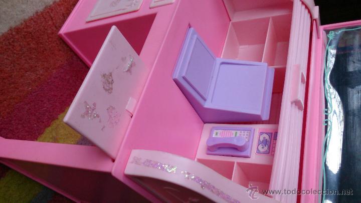 Barbie y Ken: Barbie Sweet Roses escritorio Bureau mágico Mattel original 1991 - Foto 6 - 158951520