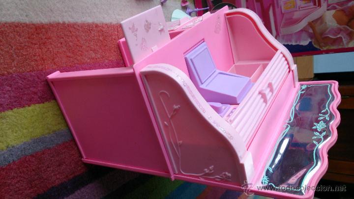 Barbie y Ken: Barbie Sweet Roses escritorio Bureau mágico Mattel original 1991 - Foto 7 - 158951520