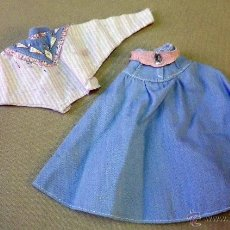 Barbie y Ken: COMPLEMENTO ORIGINAL, MUÑECA BARBIE, CONJUNTO VINTAGE. Lote 46834883