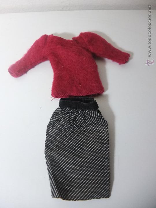 BARBIE CONGOST - CONJUNTO SHOPPING FALDA Y JERSEY - MODA REVERSIBLE (Juguetes - Muñeca Extranjera Moderna - Barbie y Ken - Vestidos y Accesorios)