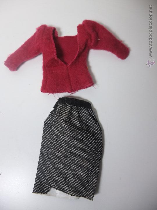Barbie y Ken: barbie congost - conjunto shopping falda y jersey - moda reversible - Foto 3 - 47857299