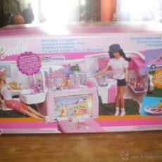 Barbie y Ken: AUTO CARAVANA DE BARBIE ,ESTA NUEVA SIN ESTRENAR EN DE 2004-5 (VER FOTOS Y LEER DESCRIPCION). Lote 48808084
