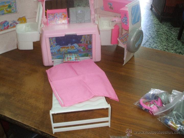 Barbie y Ken: Auto caravana de Barbie ,esta nueva sin estrenar en de 2004-5 (ver fotos y leer descripcion) - Foto 3 - 48808084