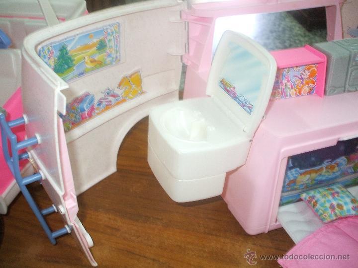 Barbie y Ken: Auto caravana de Barbie ,esta nueva sin estrenar en de 2004-5 (ver fotos y leer descripcion) - Foto 5 - 48808084