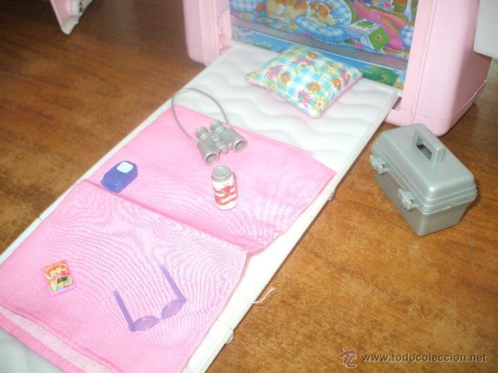 Barbie y Ken: Auto caravana de Barbie ,esta nueva sin estrenar en de 2004-5 (ver fotos y leer descripcion) - Foto 8 - 48808084