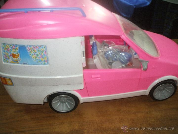 Barbie y Ken: Auto caravana de Barbie ,esta nueva sin estrenar en de 2004-5 (ver fotos y leer descripcion) - Foto 9 - 48808084