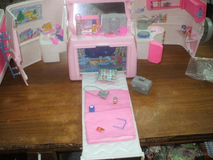 Barbie y Ken: Auto caravana de Barbie ,esta nueva sin estrenar en de 2004-5 (ver fotos y leer descripcion) - Foto 12 - 48808084