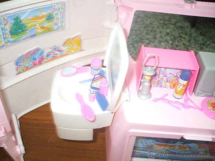 Barbie y Ken: Auto caravana de Barbie ,esta nueva sin estrenar en de 2004-5 (ver fotos y leer descripcion) - Foto 13 - 48808084