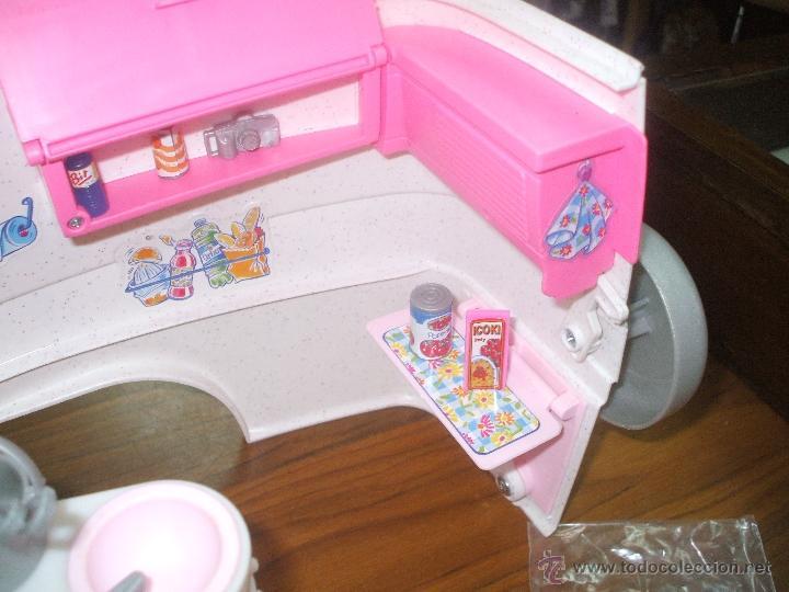 Barbie y Ken: Auto caravana de Barbie ,esta nueva sin estrenar en de 2004-5 (ver fotos y leer descripcion) - Foto 15 - 48808084