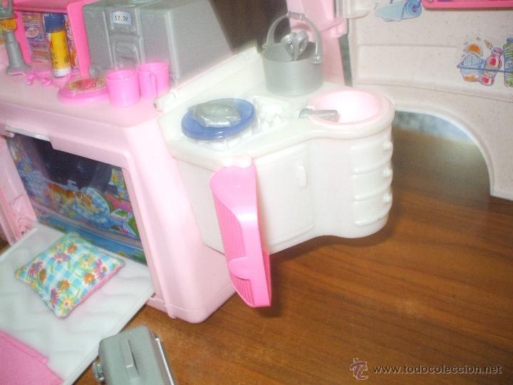 Barbie y Ken: Auto caravana de Barbie ,esta nueva sin estrenar en de 2004-5 (ver fotos y leer descripcion) - Foto 16 - 48808084