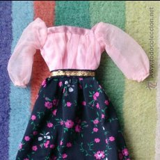 Barbie y Ken: VESTIDO PRIMAVERA ORIGINAL BARBIE SPAIN CONGOST. Lote 49179944