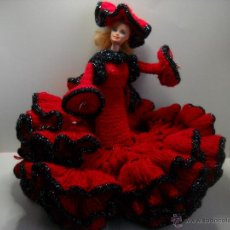 Barbie y Ken: VESTIDO GITANA FLAMENCA FARALAE DE LANA PARA MUÑECA BARBIE O SIMILAR. Lote 49214017