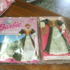 Barbie y Ken: VESTIDO DE COLECCION BARBIE VIAJA POR EL MUNDO ,ES EL MODELO RUMANIA ,AÑO 2000 ESTA NUEVO. Lote 50626244