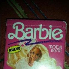 Barbie y Ken: BARAJA DE CARTAS HERACLIO FOURNIER BARBIE MODA 90 91 COMPLETA. Lote 111643651