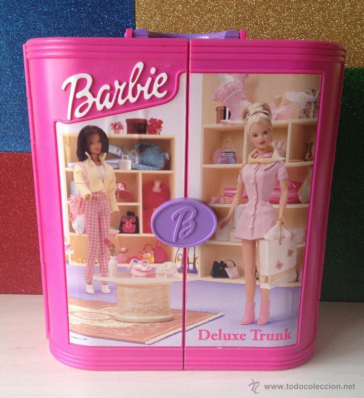 Armario de barbie deluxe trunk maleta ba l ver comprar - Armario para guardar juguetes ...