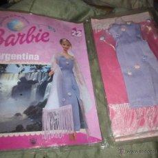 Barbie y Ken: BARBIE ARGENTINA. COLECCIONABLE VESTIDO + FASCÍCULO.. Lote 51449942