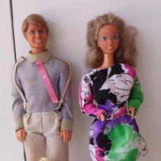 Barbie y Ken: FAMILIA CORAZON BARBIE Y KEN COMPLETA AÑOS 80. Lote 51580141