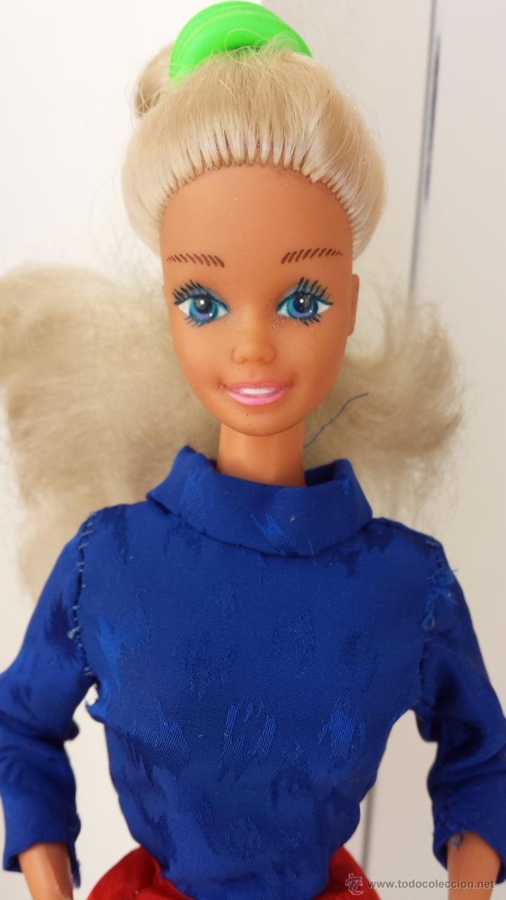 BARBIE DIAMANTES 1986 (Juguetes - Muñeca Extranjera Moderna - Barbie y Ken - Vestidos y Accesorios)