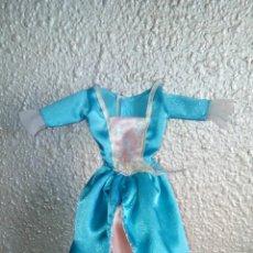 Barbie y Ken: VESTIDO BARBIE PRINCESA. Lote 51648535