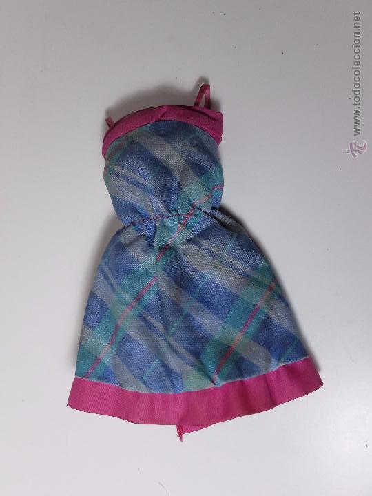 VESTIDO BARBIE CONGOST MODA REVERSIBLE (Juguetes - Muñeca Extranjera Moderna - Barbie y Ken - Vestidos y Accesorios)