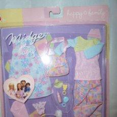 Barbie y Ken: MIDGE & BABY. BLISTER ROPA. BARBIE MATTEL. Lote 52643243