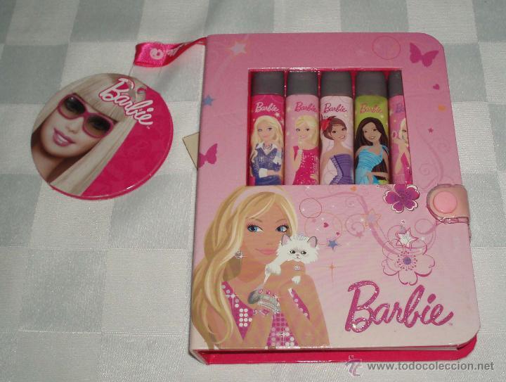 giro Nacarado colchón  tres agendas cosmetica barbie con un bonito est - Comprar Barbie y Ken -  Vestidos y Accesorios en todocoleccion - 52943165