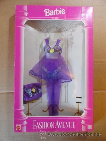 CAJA BLISTER CONJUNTO BARBIE LINGERIE FASHION AVENUE COLLECTION (ASST.14292) (Juguetes - Muñeca Extranjera Moderna - Barbie y Ken - Vestidos y Accesorios)