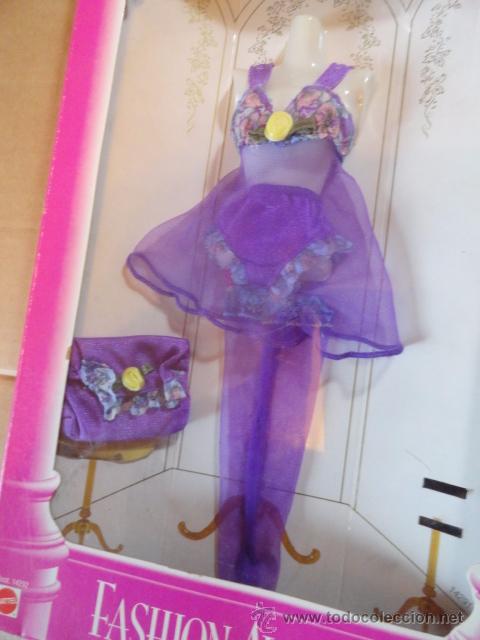 Barbie y Ken: CAJA BLISTER CONJUNTO BARBIE LINGERIE FASHION AVENUE COLLECTION (ASST.14292) - Foto 2 - 53354415