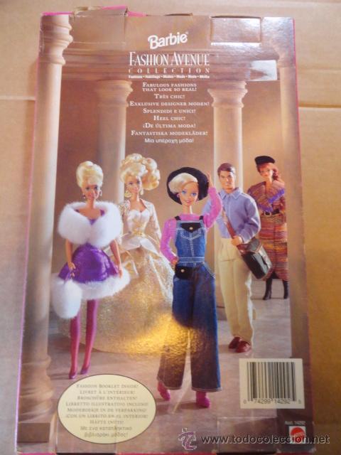Barbie y Ken: CAJA BLISTER CONJUNTO BARBIE LINGERIE FASHION AVENUE COLLECTION (ASST.14292) - Foto 6 - 53354415