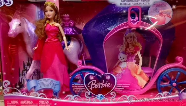 BARBIE EL CASTILLO DE DIAMANTES (Juguetes - Muñeca Extranjera Moderna - Barbie y Ken - Vestidos y Accesorios)