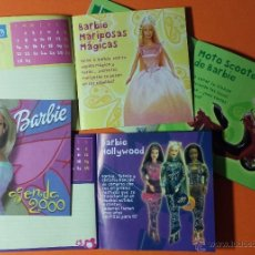 Barbie y Ken: MUÑECA BARBIE. AGENDA 2000. 14 PAGINAS LLENAS DE ACCESORIOS, MUÑECAS Y COMENTARIOS. NUEVA.. Lote 53713466