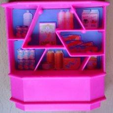 Barbie y Ken: MUEBLE ESTANTERÍA TIENDA COMESTIBLES ORIGINAL MATTEL 1989 BARBIE . Lote 58676668