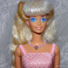 Barbie y Ken: COLLAR PARA BARBIE ESTRELLA ROSA Y BLANCO.. Lote 55101928