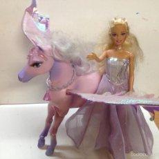 Barbie y Ken: BARBIE CON CABALLO ALADO PEGASO . Lote 55142124