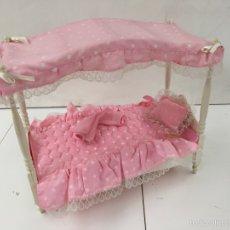 Barbie y Ken: BARBIE CAMA CON DOSEL. Lote 56661242