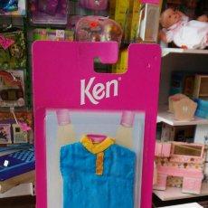 Barbie y Ken: CONJUNTO BERMUDAS AZUL KEN.AÑO 1997.NUEVO EN BLISTER.. Lote 98587978
