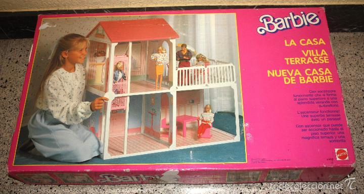 La nueva casa de barbie villa terrasse matt comprar barbie y ken vestidos y accesorios - La casa de barbie de juguete ...
