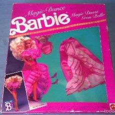 Barbie y Ken: MUY DIFÍCIL CONJUNTO ALBENIZ EN CAJA DE LA SERIE MAGIC DANCE DE LA MUÑECA BARBIE FABRICADO EN ESPAÑA. Lote 57571143
