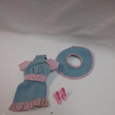 Barbie y Ken: BARBIE - CONJUNTO VESTIDO MODELO MODA JEANS DE MUÑECA BARBIE DE MATTEL REFERENCIA 1688. Lote 57915089