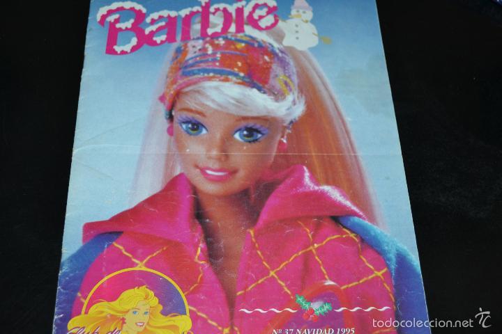 NOTICIAS DE BARBIE Nº37 NAVIDAD 1995 (Juguetes - Muñeca Extranjera Moderna - Barbie y Ken - Vestidos y Accesorios)