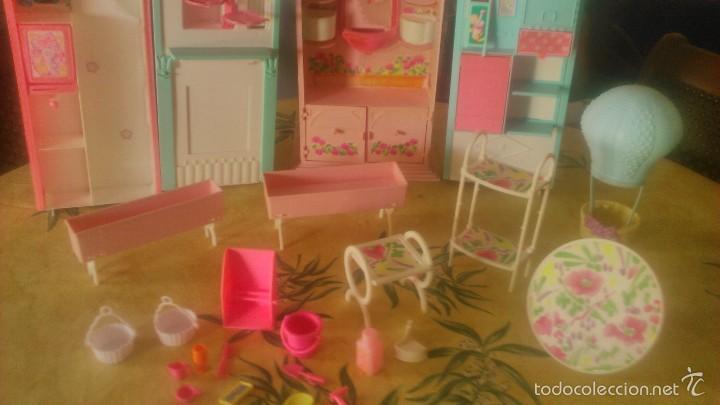 Barbie y Ken: BARBIE LOTE DE PIZZERIA,JARDINERÍA,HELADERA Y ACCESORIOS DE BARBIE,AÑOS 90 - Foto 3 - 152258708