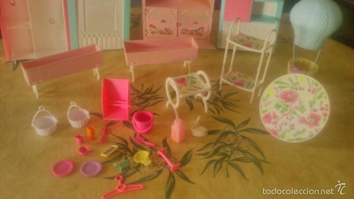 Barbie y Ken: BARBIE LOTE DE PIZZERIA,JARDINERÍA,HELADERA Y ACCESORIOS DE BARBIE,AÑOS 90 - Foto 4 - 152258708