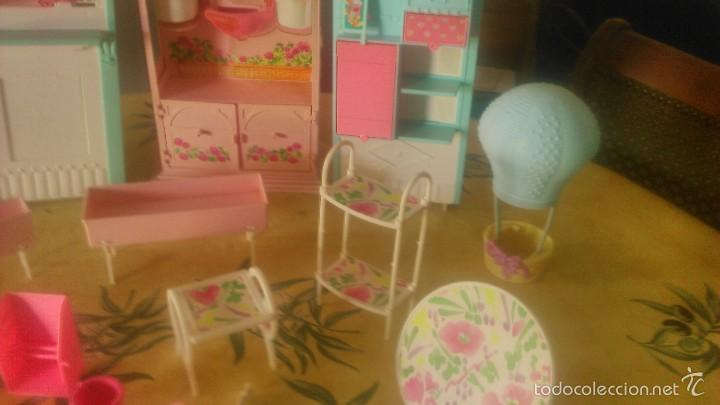 Barbie y Ken: BARBIE LOTE DE PIZZERIA,JARDINERÍA,HELADERA Y ACCESORIOS DE BARBIE,AÑOS 90 - Foto 5 - 152258708