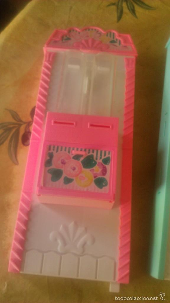 Barbie y Ken: BARBIE LOTE DE PIZZERIA,JARDINERÍA,HELADERA Y ACCESORIOS DE BARBIE,AÑOS 90 - Foto 11 - 152258708
