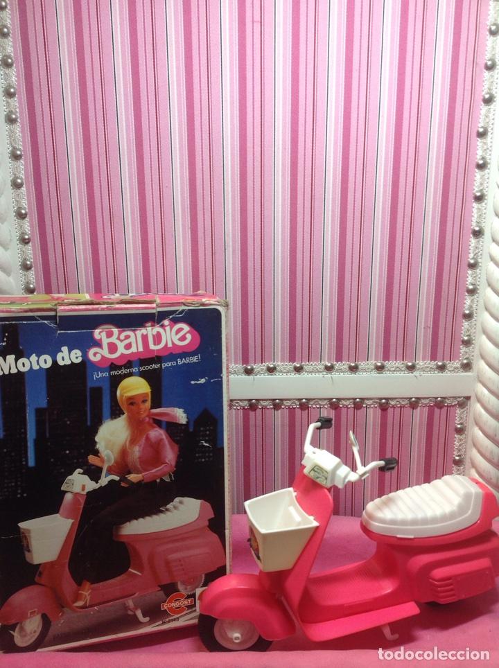 MOTO BARBIE CONGOST DEL 83 (Juguetes - Muñeca Extranjera Moderna - Barbie y Ken - Vestidos y Accesorios)