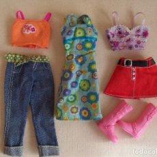 Barbie y Ken: BARBIE LOTE ROPA Y CALZADO . MATTEL. Lote 63898023