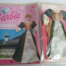Barbie y Ken: TRAJE + FASCICULO BARBIE RUMANIA DE MATTEL Nº13.. Lote 64754387