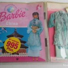 Barbie y Ken: TRAJE + FASCICULO BARBIE CHINA DE MATTEL Nº9.. Lote 64754479