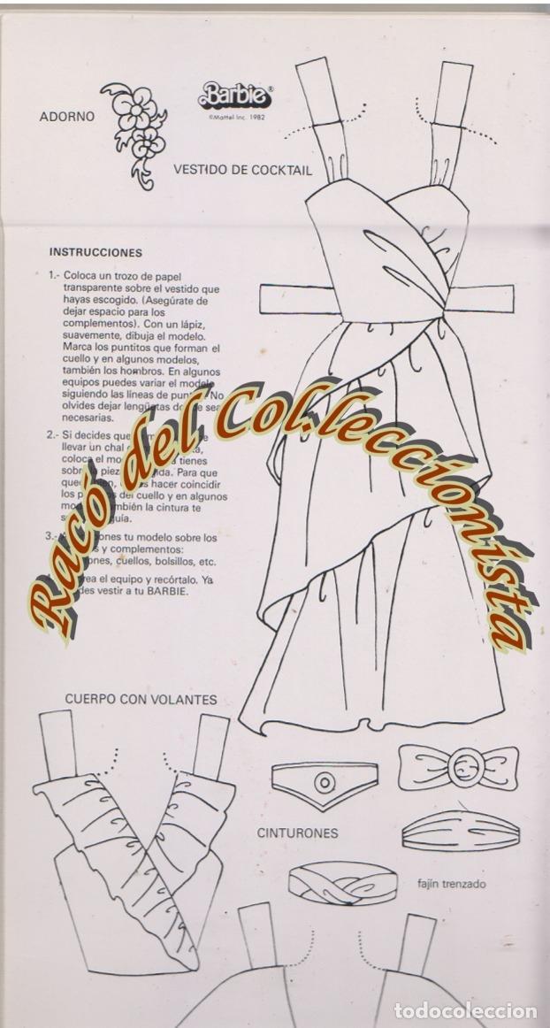 barbie patrones para recortar y colorear, didac - Comprar Barbie y ...
